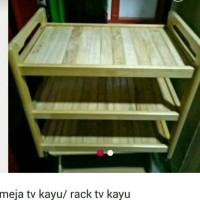 rak tv kayu