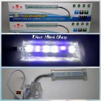 Jual lampu jepit led aquarium aquascape yamano 3 watt Murah
