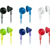 EAR EARPHONE EXTRA BAS PHILIP SHE 3010 ORIGINAL GARANSI RESMI 2 TAHUN