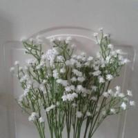 Jual Bunga Baby Breath - Gypsophila Artificial Latex Import -White Murah