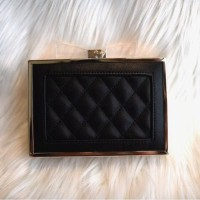 Party Quilted Ribbon Clutch
