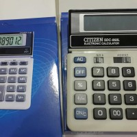 kalkukator calculator citizen sdc-868l sdc868l
