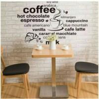 wallsticker cafe coffe shop