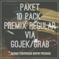 PAKET 10 PACK CHOLATTE PREMIX REGULAR VIA GOJEK/GRAB