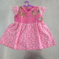 dress batik print anak 1-2tahun