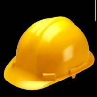 helm proyek safety dengan tali dagu