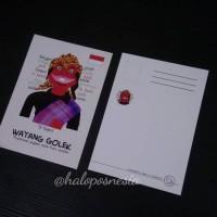 Jual Postcard / Kartu Pos Wayang Golek Murah