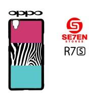 casing hp oppo r7s pattern 7 custom hardcase cover