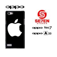 Casing HP Oppo Neo 7 (A33) Wallpaper Apple Logo Custom Hardcase Cover