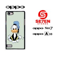 Casing HP Oppo Neo 7 (A33) donald duck 3 Custom Hardcase Cover