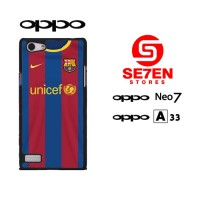 Casing HP Oppo Neo 7 (A33) barcelona wallpaper Custom Hardcase Cover
