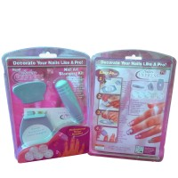 Nail Art Stamping Kit Salon Express as seen on tv