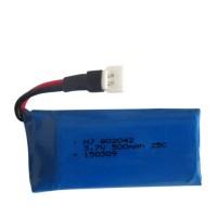 Upgrade 3.7V 500mAh Li-Po Battery for Hubsan X4 H107 H107L H107C H107D