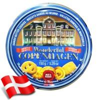 Wonderful Copenhagen Butter Cookies 150gr