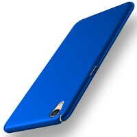casing oppo f1 plus / r9 baby skin ultra thin hard case blue biru