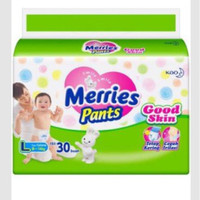 Diaper Merries Pants Good Skin L30 / L 30