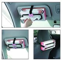 Tissue Paper Box Car Holder Cars Mobil Tempat Gantungan Tissu Interior
