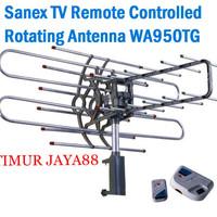 Antenna antena tv remote control outdoor + booster+kabel Sanex WA950TG
