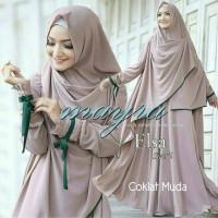 Gamis / Baju / Pakaian Wanita Muslim New Elsa Syari (2)
