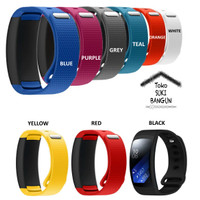 TALI JAM Samsung Gear Fit 2 Watch Silicone Rubber Sport Band Strap