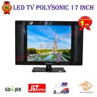 Led Tv 17 Inch Polysonic 1777 - Hitam