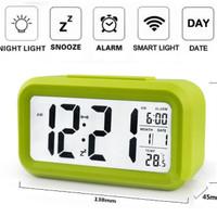 Jual Jam Weker / Digital Desktop Smart Clock / jam meja alarm - JP9901 Murah