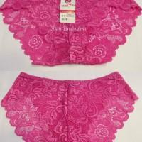 pakaian dalam celana dalam wanita renda transparan