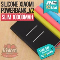 Silicon Silikon Case Xiaomi PowerBank 10000mAH Power Bank V2 10000 mAH