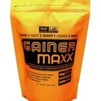 Jual Gainer MAXX CHOCOLATE FLAVOUR - Nat Lab Gainer Series Soya Protein 1kg Murah