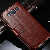 Samsung Galaxy GRAND DUOS Wallet flip Cover Case Leather casing dompet