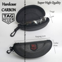 Safety Eyewear Hardcase Pelindung Tempat Kacamata Pouch Case Carbon