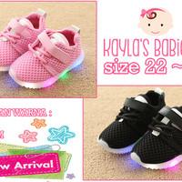 Sepatu Anak LED Sneaker Sepatu Bayi New Arrival Import