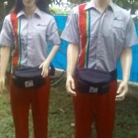 Jual Seragam Operator SPBU Pasti Prima (free Topi) Murah