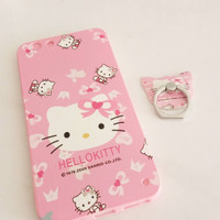 Jelly case Hello Kitty Iring Pink Oppo F1S A59 A39 Neo 9 A37 Vivo V5