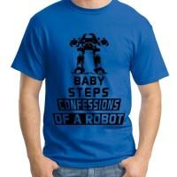 Jual ED - Kaos Superhero / Kaos Pria / Kaos Raglan / Kaos Robocop Murah