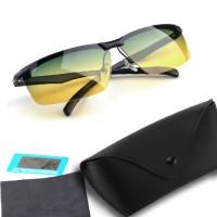 YOOSKE HD Vision Day & Night Sunglasses - Kacamata Anti Silau
