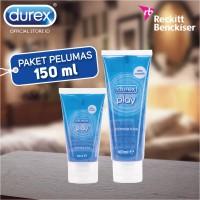 harga [paket Pelumas 150 Ml] Durex Play Pelumas 100 Ml + Pelumas 50 Ml Tokopedia.com