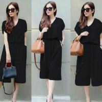Jumpsuit Wanita Ester / Jamsuit  Korean Girl / Jumpsuit Yona Cotton NR