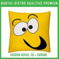 Bantal Emoticon 9 EMTC09 Bantal Sofa/Mobil