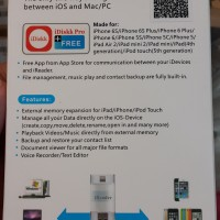 Jual New iReader USB Micro SD/TF, Card Reader Writer for iPhone, iPod, iPad Murah