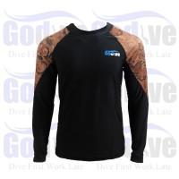 PROMO Alat Selam Godive Diving Snorkeling Long Sleeve Rashguard SL-014