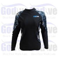 PROMO Alat Selam Godive Diving Snorkeling Long Sleeve Rashguard SL-013
