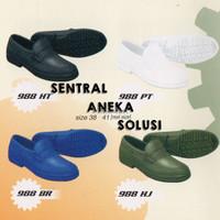 Jual PROMO TOYOBO boots sepatu kerja formal pantofel boot karet hitam TYB 9 Murah