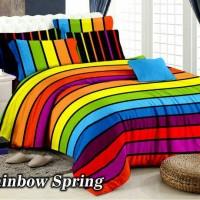 Jual bed cover set rainbow pelangi uk.120x200 Murah