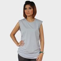 Just Mom baju menyusui Inner Viola - Grey VL107