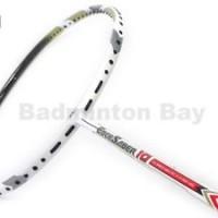Apacs EdgeSaber 10 White (4U) Badminton Racket Racquet Free Stringing