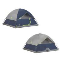 tenda - Coleman Sundome 6 Person Dome Camping Tent
