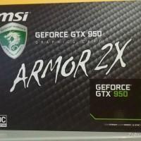 Jual MSI GTX 950 Armor-2X Edition 2GB GDDR5 Murah