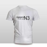 kaos baju pakaian gadget HANDPHONE OPPO N3 LOGO FONT mu Diskon
