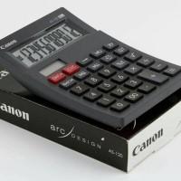 Canon Calculator AS 120 Black / Hitam Original 12 digits